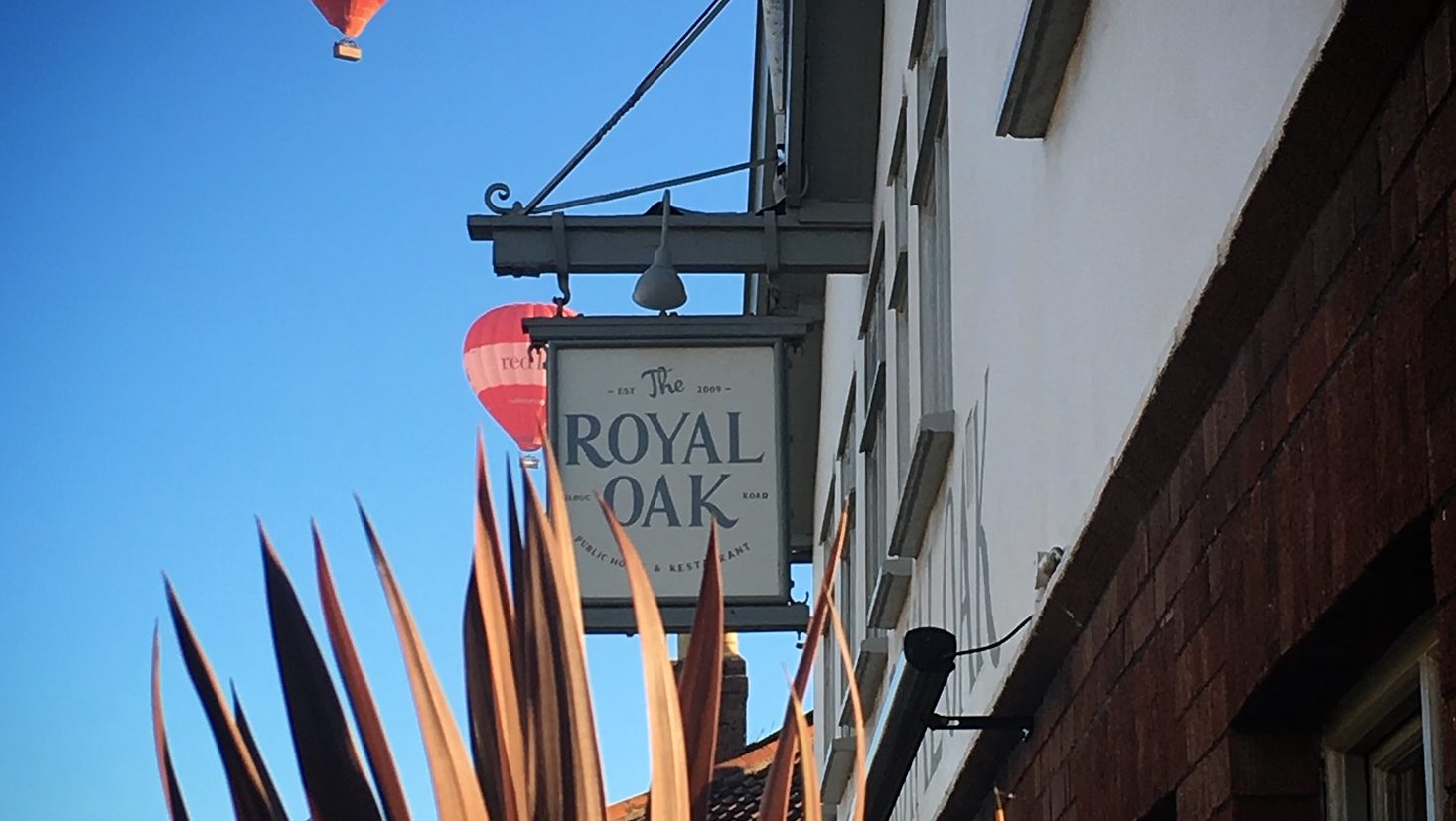 exterior and sign of royal oak