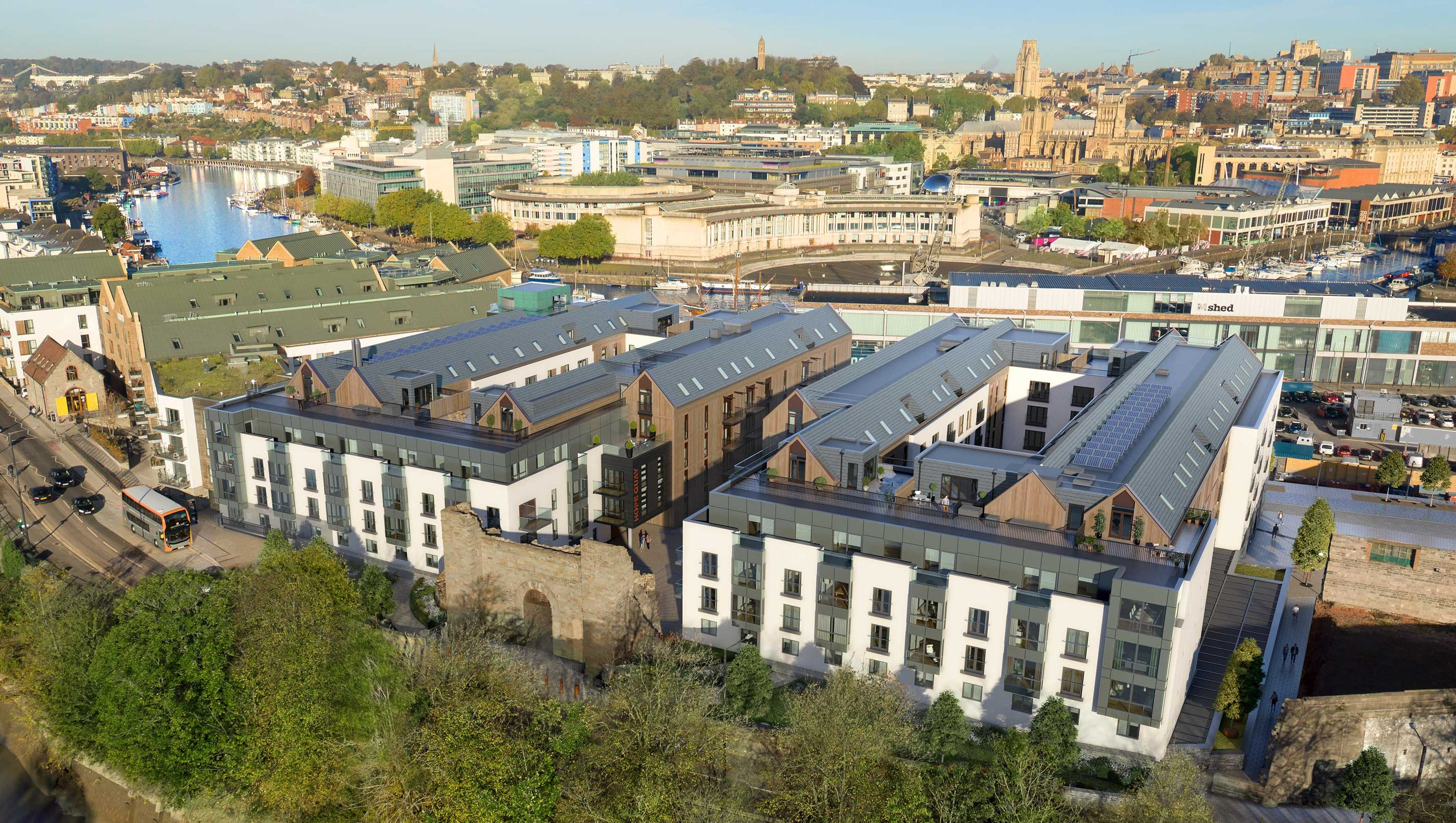 new homes at wapping wharf