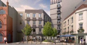 New hotel, leisure and residential quarter on former Everards Print Works site