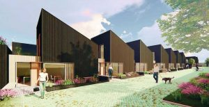 'Gap House' proposal: disused garages to become eco homes