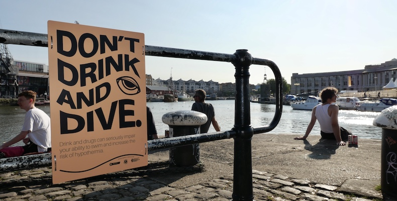 Bristol Water Safety Partnership launch harbourside safety awareness campaign